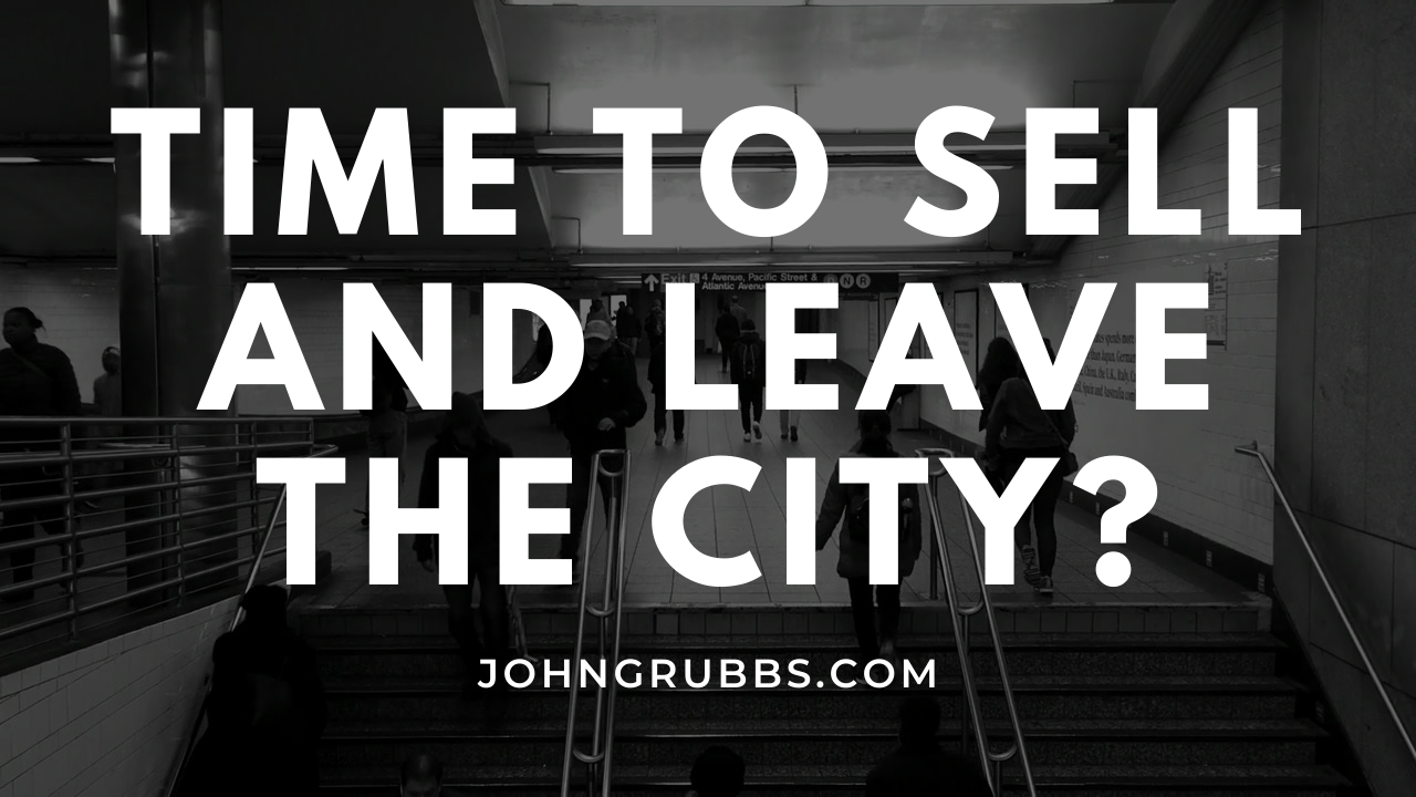 Leave the city