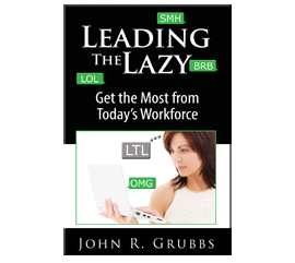 Book Cover - Leading the Lazy